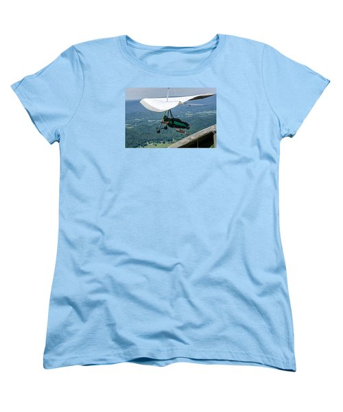 Women's T-Shirt (Standard Cut) featuring the photograph No Turning Back by Susan  McMenamin