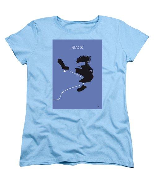 No008 My Pearl Jam Minimal Music Poster Women's T-Shirt (Standard Cut) by Chungkong Art