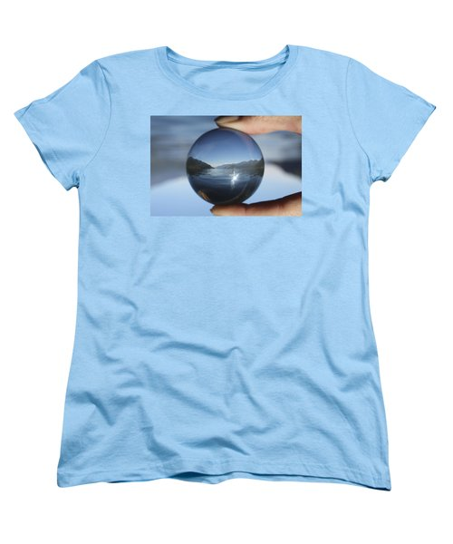North Women's T-Shirt (Standard Cut) by Cathie Douglas