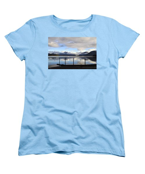 Women's T-Shirt (Standard Cut) featuring the photograph North Douglas Reflections by Cathy Mahnke
