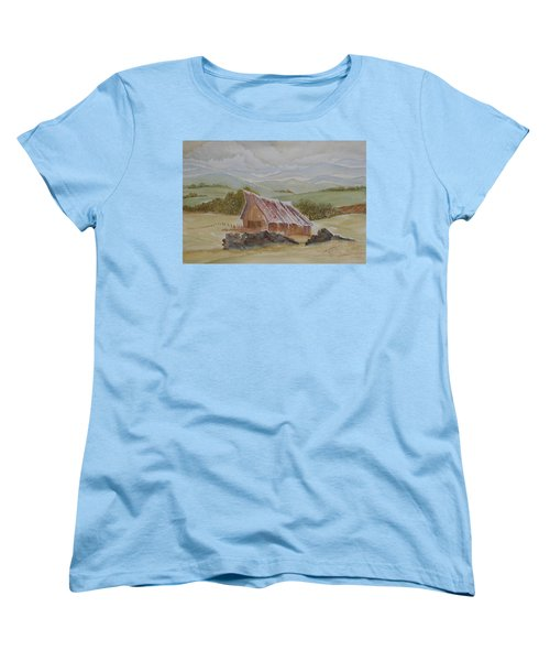 North Of Winnemucca Women's T-Shirt (Standard Cut) by Joel Deutsch