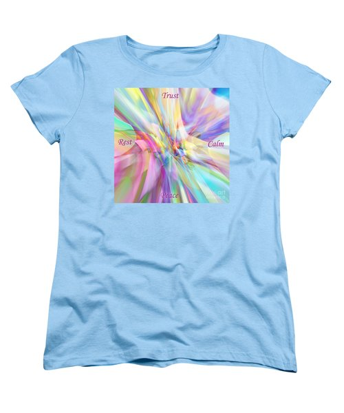 North South East West Women's T-Shirt (Standard Cut) by Margie Chapman