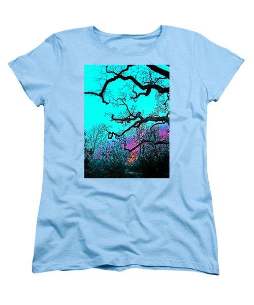 Oaks 4 Women's T-Shirt (Standard Cut) by Pamela Cooper