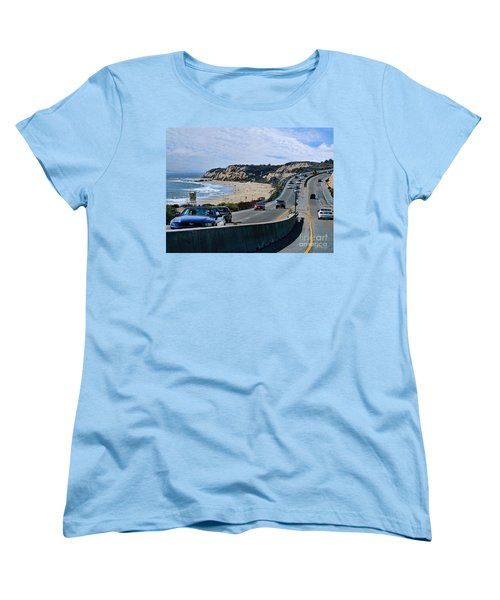 Oc On Pch In Ca Women's T-Shirt (Standard Cut) by Jennie Breeze