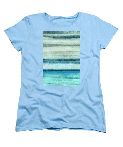 Ocean 4 Women's T-Shirt (Standard Cut) by Angelina Vick