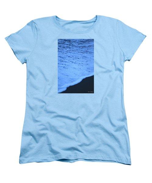 Ocean Blues Women's T-Shirt (Standard Cut) by Amy Gallagher