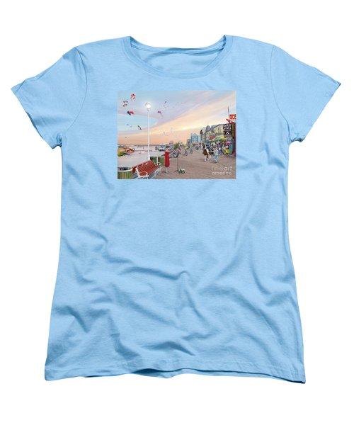 Ocean City Maryland Women's T-Shirt (Standard Cut) by Albert Puskaric