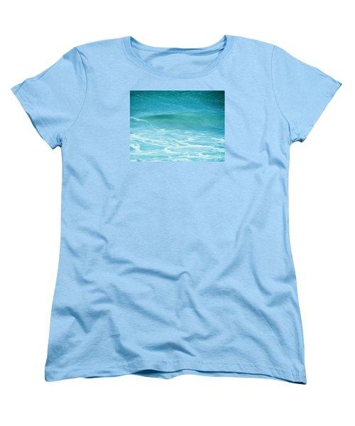 Women's T-Shirt (Standard Cut) featuring the photograph Ocean Lullaby by Roselynne Broussard