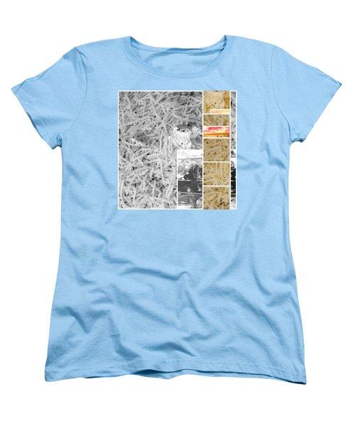 Women's T-Shirt (Standard Cut) featuring the photograph Odio Si Sta Sciogliendo by Sir Josef - Social Critic - ART