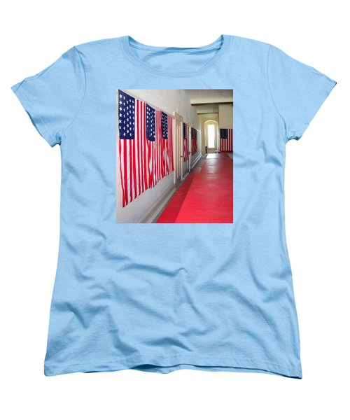 Oh Say Can You See Women's T-Shirt (Standard Cut) by Pamela Hyde Wilson