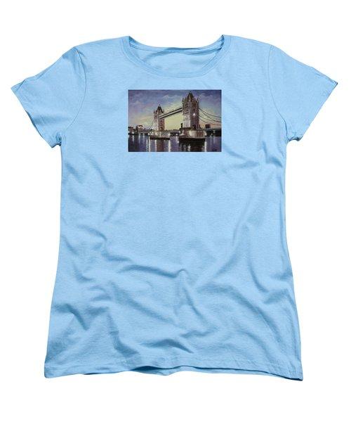 Oil Msc 046 Women's T-Shirt (Standard Cut) by Mario Sergio Calzi