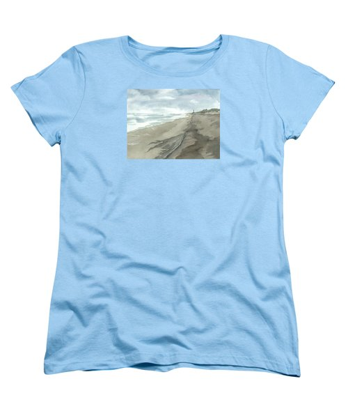 Old Hatteras Light Women's T-Shirt (Standard Cut) by Joel Deutsch