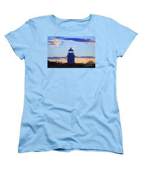 Women's T-Shirt (Standard Cut) featuring the photograph Old Lighthouse by Bernardo Galmarini