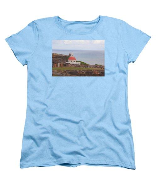 Old San Juan Women's T-Shirt (Standard Cut) by Daniel Sheldon