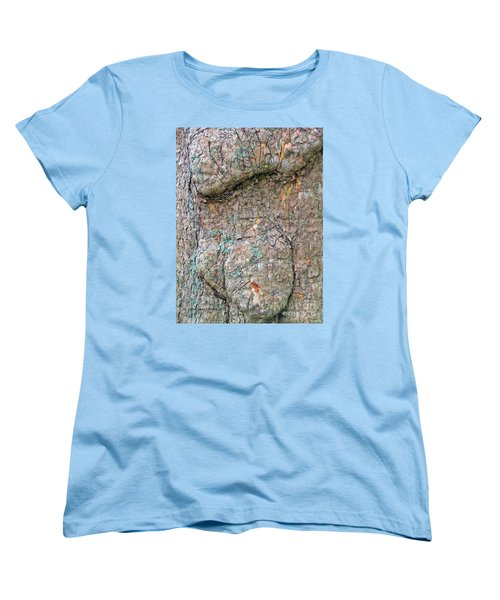 Women's T-Shirt (Standard Cut) featuring the photograph Old Soul Sycamore Tree by Joan Hartenstein