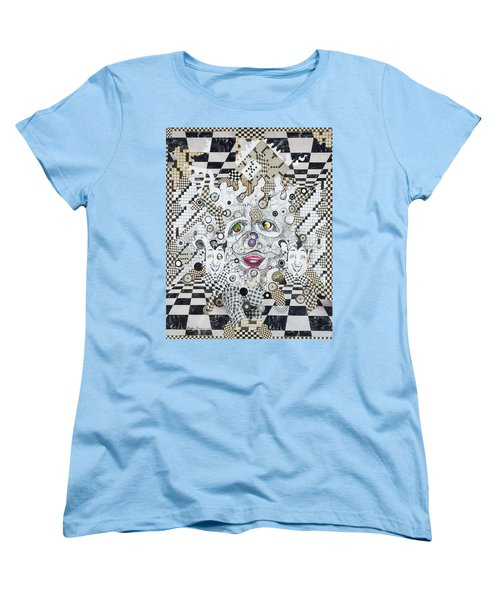 Olive Eyes Women's T-Shirt (Standard Cut) by Douglas Fromm