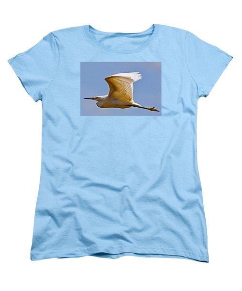 On Angel's Wings Women's T-Shirt (Standard Cut) by Gary Holmes