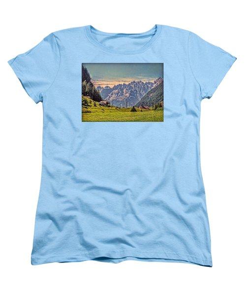 On The Alp Women's T-Shirt (Standard Cut) by Hanny Heim