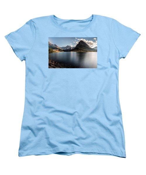 On The Edge Women's T-Shirt (Standard Cut) by Aaron Aldrich