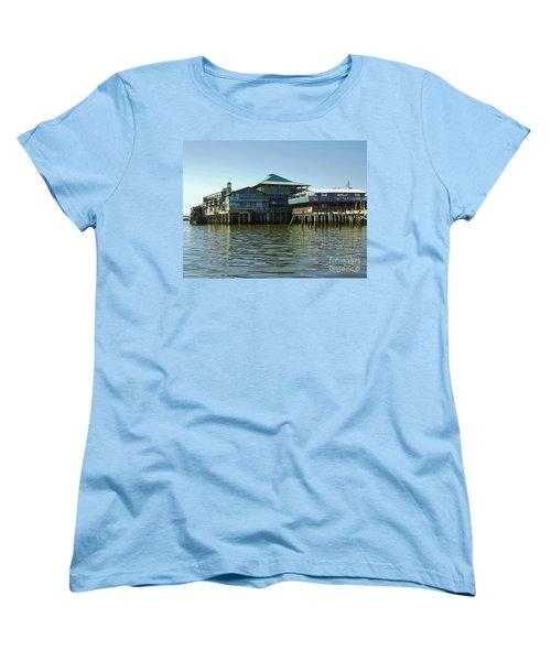 On The Gulf Women's T-Shirt (Standard Cut) by D Hackett