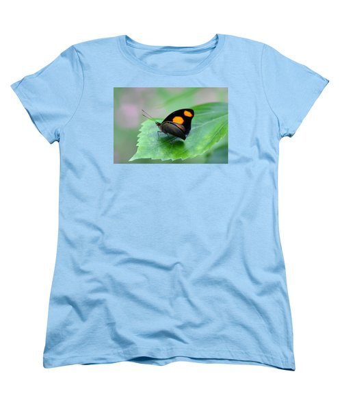 On The Leaf Women's T-Shirt (Standard Cut) by Denyse Duhaime