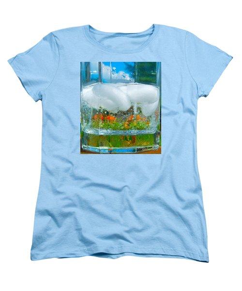 On The Rocks Women's T-Shirt (Standard Cut) by Pamela Clements