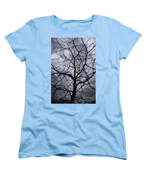 On Their Shoulders Held The Sky Women's T-Shirt (Standard Cut) by Linda Shafer