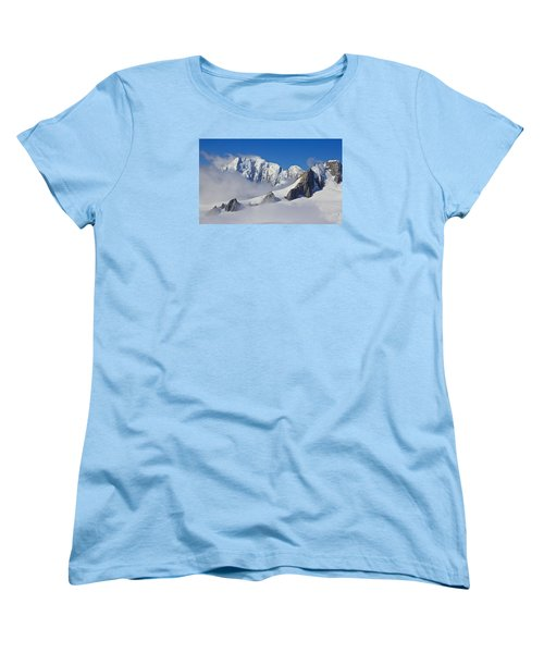 On Top Of The World Women's T-Shirt (Standard Cut) by Venetia Featherstone-Witty