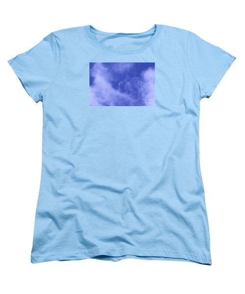 Women's T-Shirt (Standard Cut) featuring the photograph Once In A Blue Moon by Judy Whitton