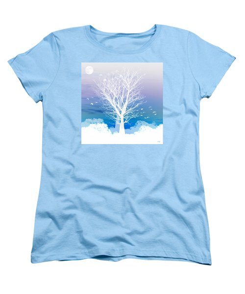 Once Upon A Moon Lit Night... Women's T-Shirt (Standard Fit)