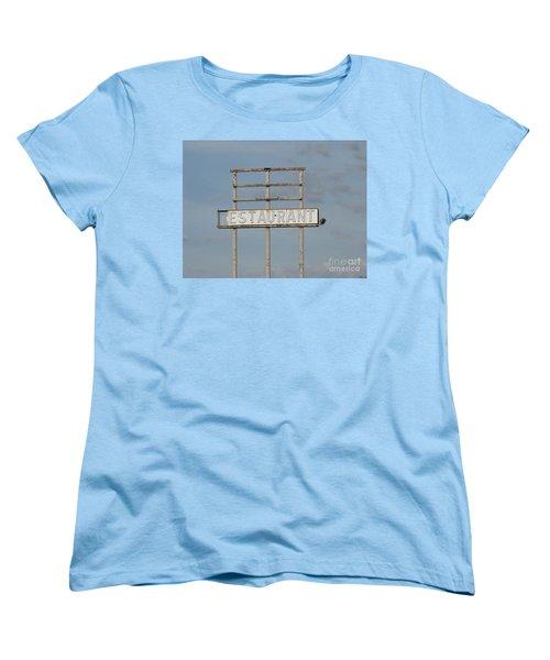 Women's T-Shirt (Standard Cut) featuring the photograph Open 24 Hours by Michael Krek