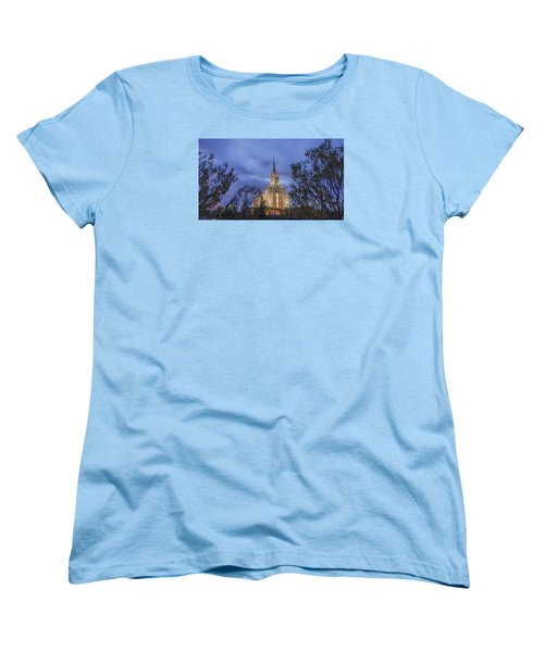 Oquirrh Mountain Temple II Women's T-Shirt (Standard Fit)