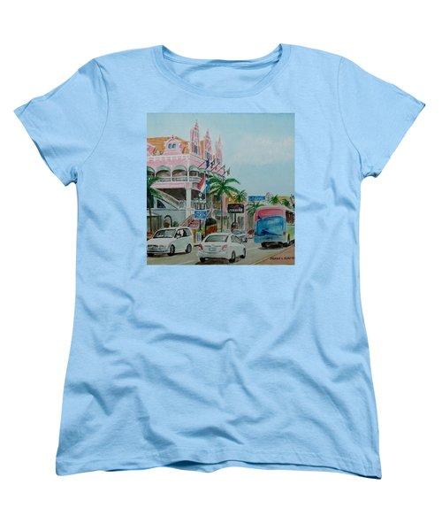 Oranjestad Aruba Women's T-Shirt (Standard Cut) by Frank Hunter