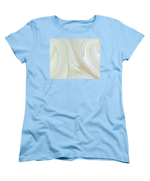 Orchids In Snow  C2014 Women's T-Shirt (Standard Cut) by Paul Ashby