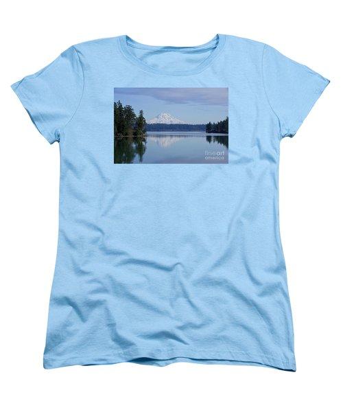Oro Bay Reflection Women's T-Shirt (Standard Cut) by Sean Griffin