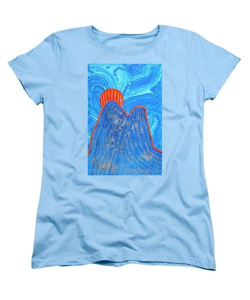 Os Dois Irmaos Original Painting Sold Women's T-Shirt (Standard Cut) by Sol Luckman