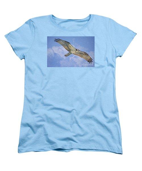 Osprey 91711 Women's T-Shirt (Standard Cut) by Deborah Benoit