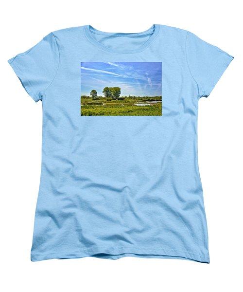 Ossenwaard Near Deventer Women's T-Shirt (Standard Cut) by Frans Blok