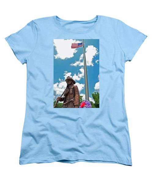 Women's T-Shirt (Standard Cut) featuring the photograph Our Heroes by Charlotte Schafer