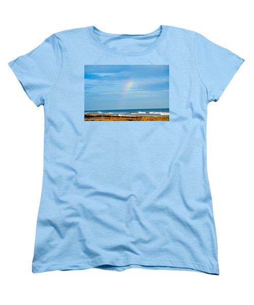 Out Of The Blue  Women's T-Shirt (Standard Cut) by Mary Ward