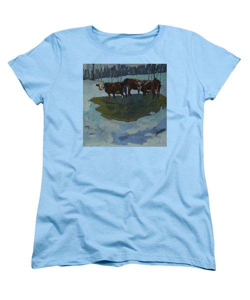 Outstanding In Their Field Women's T-Shirt (Standard Cut) by Phil Chadwick