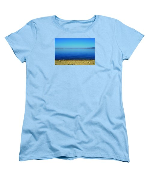 Women's T-Shirt (Standard Cut) featuring the photograph Overflow by Rima Biswas