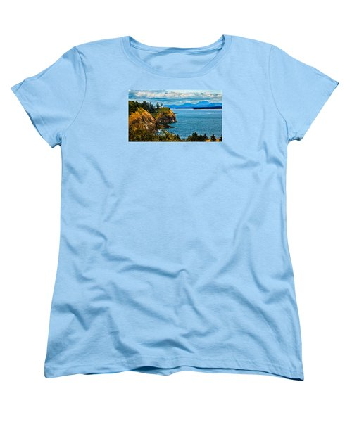 Overlooking Women's T-Shirt (Standard Cut) by Robert Bales