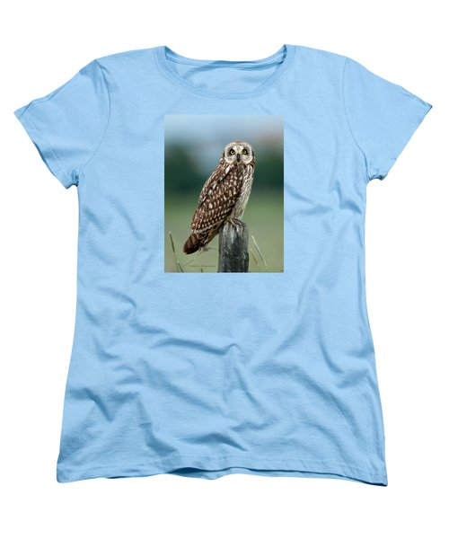 Owl See You Women's T-Shirt (Standard Cut) by Torbjorn Swenelius
