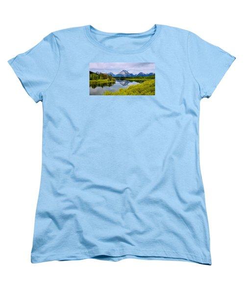 Oxbow Summer Women's T-Shirt (Standard Cut) by Chad Dutson