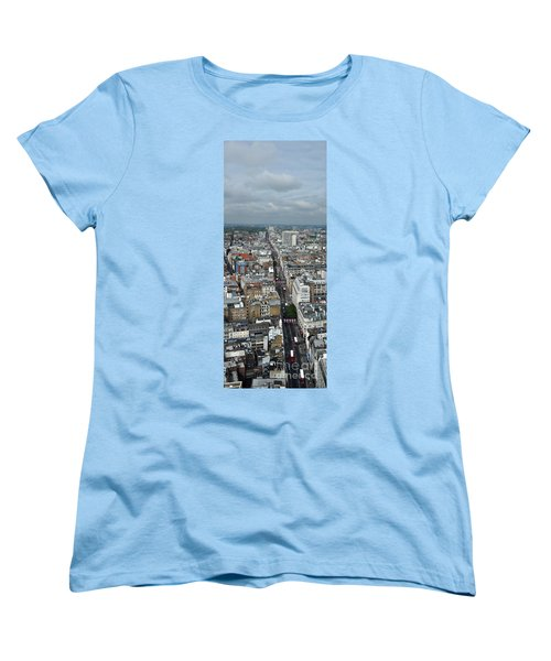 Oxford Street Vertical Women's T-Shirt (Standard Cut) by Matt Malloy