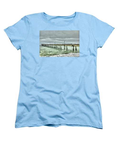 Pacifica Municipal Fishing Pier 7 Women's T-Shirt (Standard Cut)