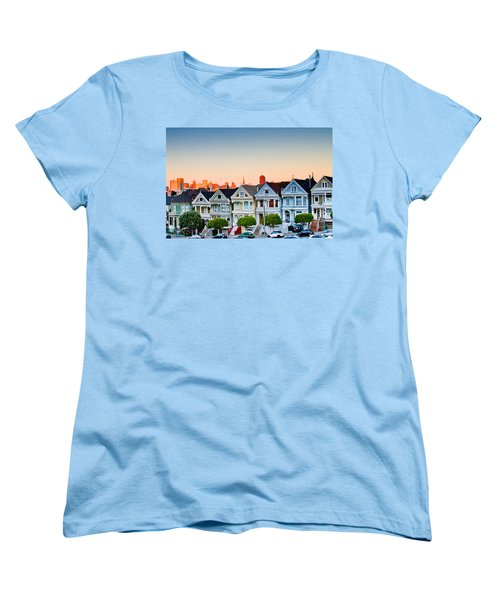 Painted Ladies Women's T-Shirt (Standard Cut) by Bill Gallagher