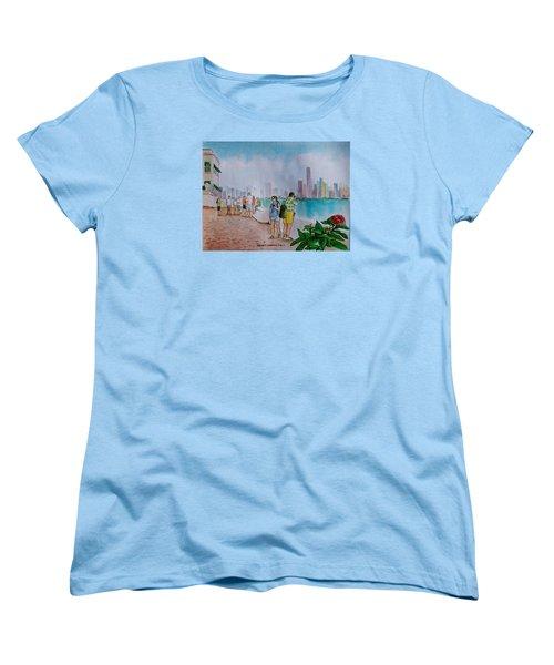 Panama City Panama Women's T-Shirt (Standard Cut) by Frank Hunter