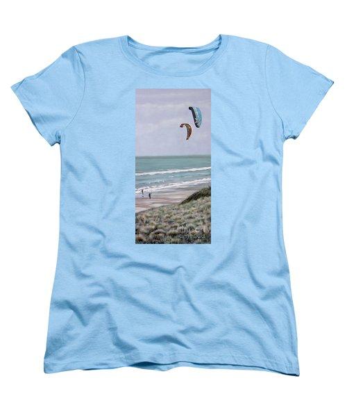 Papamoa Beach 090208 Women's T-Shirt (Standard Cut) by Sylvia Kula